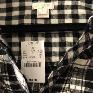 J. Crew Tops - J.crew flannel dress shirt